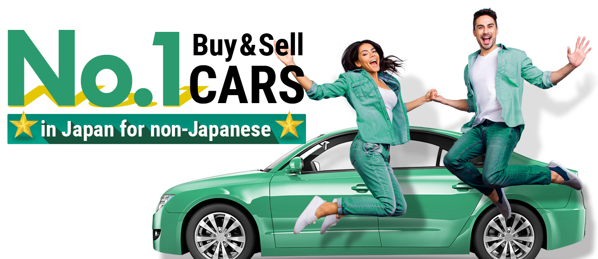 No.1 Sell & Buy Cars in Japan for non-Japanese